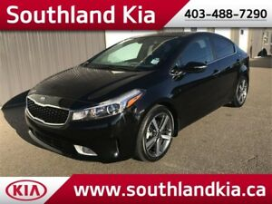2017 Kia Forte SX **ONE OWNER, LOW KMS!!**