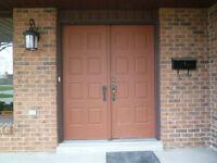 Double Door Enterance