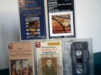 DEBUSSY HAYDN MAHLER RACHMANINOV CLASSICAL PRERECORDED CASSETTE TAPES. SEE ALSO BATCHES 5, 6, 20, 21