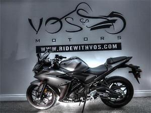 2016 Yamaha YZF-R3 - V2449NP - **No Payments For 1 Year
