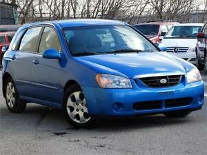 2006 Kia Spectra5-Accident free-Single Owner-Low Kilometers