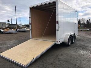 7 x 14 ATC Aluminum trailer, Extra Height