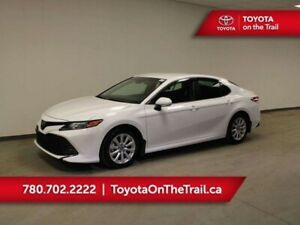 2018 Toyota Camry LE; LOW KM, SAFETY SENCE, RADAR CRUISE, HEATED