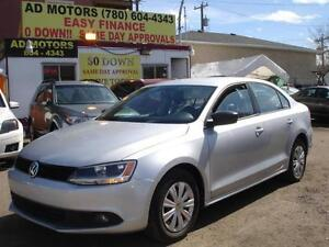 2011 VOLKSWAGEN JETTA AUTO LOADED 59K_100% APPROVED FINANCING!!