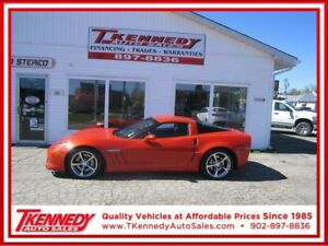 2011  CORVETTE GRAND SPORT Z16 ( INFERNO ORANGE ONE OF 413)