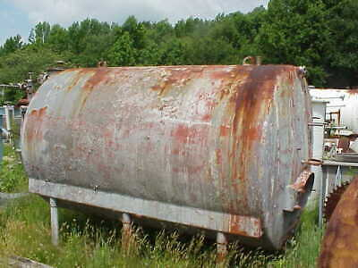 2000 Gallon Stainless Steel Horizontal Jacketed Storage Tank