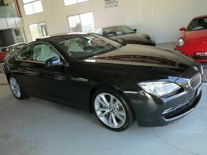 2012 BMW 640i F13 MY0312 Steptronic Black 8 Speed Sports Automatic Coupe Albion Brisbane North East Preview