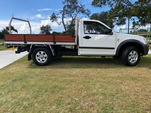 2007 Holden Rodeo RA MY07 LX 4x2 White 5 Speed Manual Cab Chassis Tugun Gold Coast South Preview