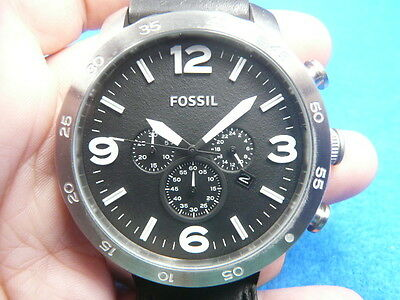 New Old Stock 50MM FOSSIL Chronograph Date Quartz Men Watch