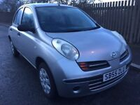 NISSAN MICRA 2006 PETROL 1.2 SILVER FOR SALE !!!