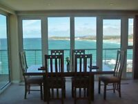 Holiday Apartment overlooking Fistral Beach, Newquay, Cornwall - Late deal