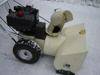3--SnowBlowers to Choose-from, 100% Service, Ready to Blast