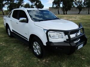 2014 Holden Colorado RG MY14 LTZ (4x4) Summit White 6 Speed Automatic Crew Cab P/Up Invermay Launceston Area Preview