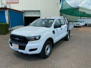 2015 Ford Ranger PX XL 3.2 (4x4) White 6 Speed Automatic Double Cab Pick Up Holtze Litchfield Area Preview