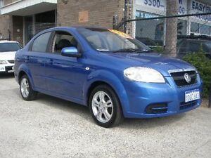 2009 Holden Barina TK MY10 Blue 5 Speed Manual Sedan Wangara Wanneroo Area Preview