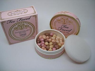 TOO FACED SWEETHEART BEADS RADIANT GLOW FACE POWDER / HIGHLIGHTER .80 OZ / 24 G
