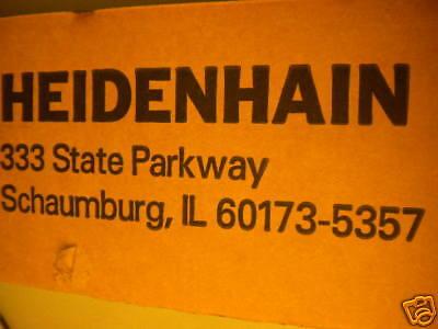 Heidenhain Ae Ls 486c 310 727-51 S G12 329 991 18 New Aels486c 31072751 32999118