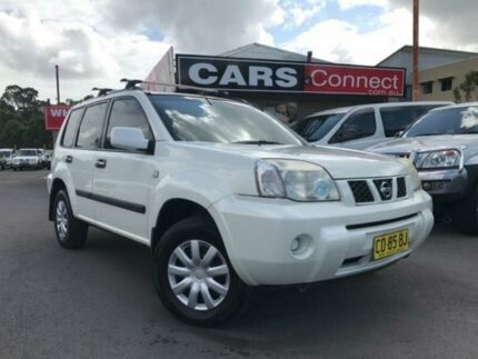 2005 Nissan X-Trail T30 ST (4x4) White 4 Speed Automatic Wagon