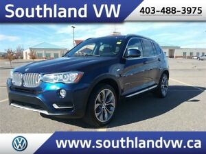 2015 BMW X3 xDrive28i **LEATHER-NAV-SUNROOF**