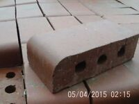 Single Front Edged Bullnose Bricks