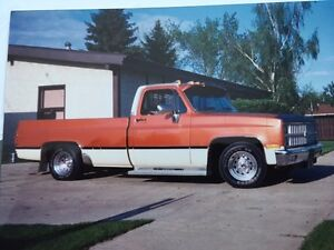WANTED 1981 chev  1/2 ton  2 wheel drive
