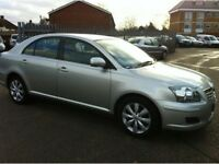 TOYOTA AVENSIS 2.2 T3 X D-4D 5d 148 BHP A GREAT STORY WITH 8 SERVICES + 1 PREVIOUS KEEPER +