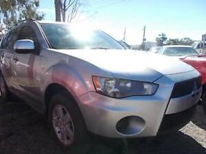 2011 Mitsubishi Outlander ACTiV Manual SUV Mount Louisa Townsville City Preview