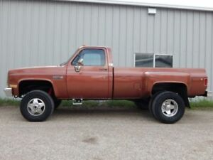1981-1987 GMC 1 ton Dually