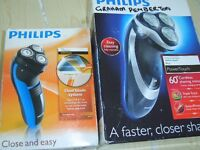 Assorted electric shavers
