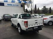 2013 Ford Ranger PX XLT Double Cab White 6 Speed Sports Automatic Utility Wodonga Wodonga Area Preview