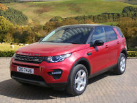 Land Rover Discovery Sport TD4 SE TECH (red) 2015-09-03