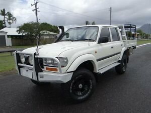 1997 Toyota Landcruiser GXL 40th Ann LE (4x4) White 5 Speed Manual 4x4 Wagon Bungalow Cairns City Preview