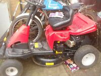 ride on lawnflite mower