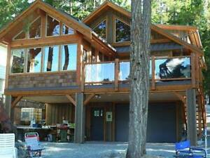 The Horne Lake - Hybrid Timber Frame - 1125 Square Feet Special