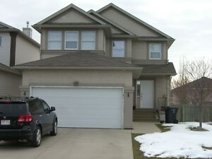 Clean West Side 3 Bedroom 2 Storey Home with Double Garage