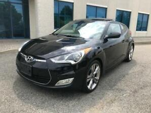 2012 HYUNDAI VELOSTER| ACCIDENT FREE| NAVI|LOW KMS|PANO ROOF!