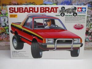 Re-Release Tamiya 1/10 Subaru Brat Pick Up Truck Kit Version #58384 OZ RC Models