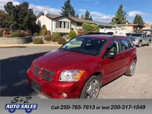 2009 Dodge Caliber SXT LOW KM!
