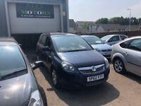 Vauxhall Zafira 1.6, 12 Months MOT, **7-Seater**, New Timing Belt, Warranty