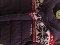 Kids Animal sleeveless padded jacket