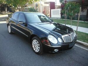 2007 Mercedes-Benz E280 W211 Elegance Black 7 Speed Automatic Sedan Kedron Brisbane North East Preview