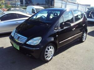2001 Mercedes-Benz A160 Classic Black 5 Speed Automatic Hatchback Punchbowl Canterbury Area Preview