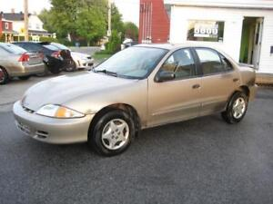 2002 Chevrolet Cavalier VL,  AUTOMATIQUE,  AIR