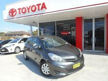 2013 Toyota Yaris NCP131R YRS Graphite 4 Speed Automatic Hatchback Allawah Kogarah Area Preview