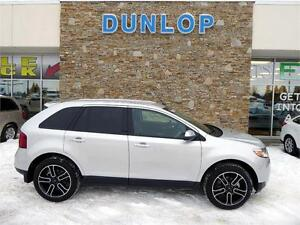 2014 FORD EDGE LEATHER NAVIGATION AWD SUPER LOW KM'S!!!!