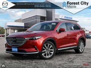 2016 Mazda CX-9 | GT | Leather | Sunroof | Bose Audio| AWD