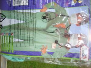 costume halloween unisex docteur 12 14 ans larges