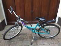 Raleigh Starz 18 speed Revo shift bike