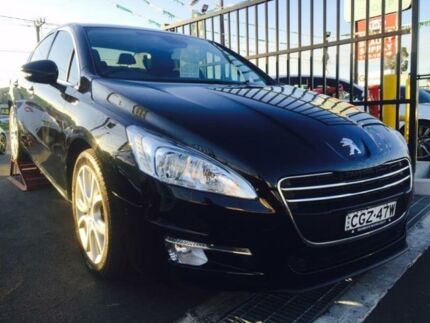 2012 Peugeot 508 Allure HDI Black 6 Speed Automatic Sedan Lansvale Liverpool Area Preview