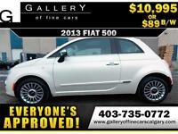 2013 Fiat 500 Lounge w/Leather+Sunroof $89 bi-weekly APPLY NOW